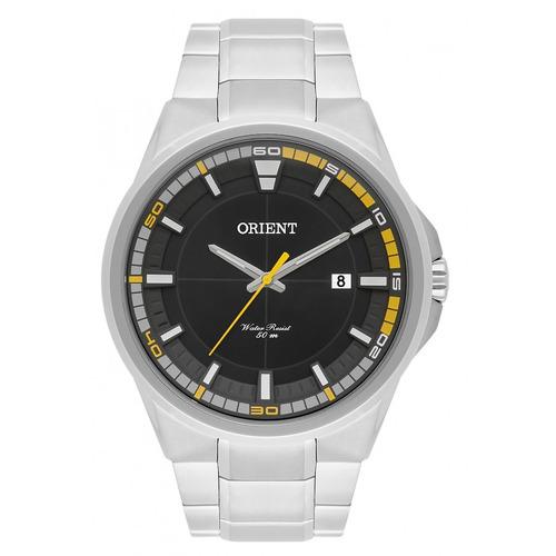 Relógio Orient Masculino Prateado Analógico Mbss1305g2sx