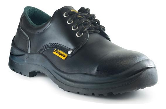 Zapatos Pampero Clasico Negro - Originales - Mayor - 6u