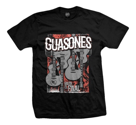 Remera Guasones Hasta El Final Guitarras
