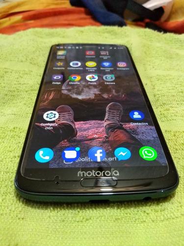 Moto G6 Plus Liberado Estetica De 9.9