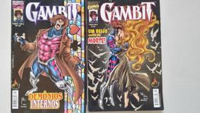 Gambit Demônios Internos + Um Beijo Antes Da Morte 2 Edições