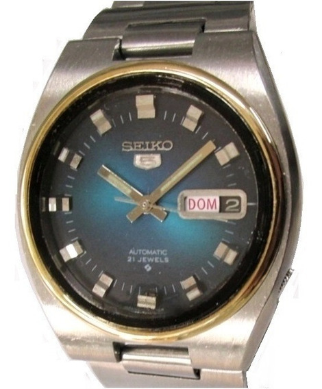 Relógio Seiko 5 Automático Masculino Aço Modelo 6119-7460