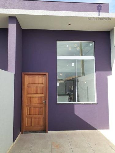 Casa À Venda, 52 M² Por R$ 170.000,00 - Jardim Santa Marta - Sorocaba/sp - Ca0489