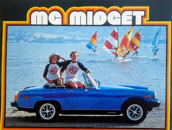 Mg Midget (auto Inglés). Catálogo Publicitario De Colección