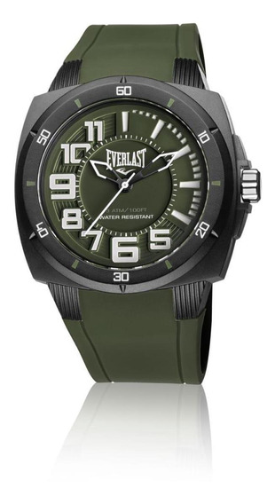 Relógio Everlast Esporte Em Silicone E680 48mm - Masculino