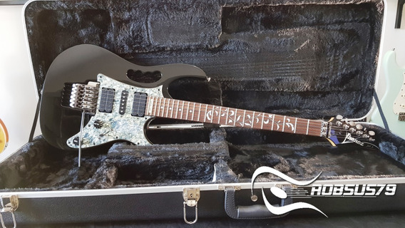 Guitarra Ibanez Jem 555 Bk Original C/ Case Envio Imediato