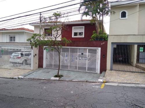Casa 175m², 3 Dormitorios, 1 Suíte, 3 Vagas - Planalto Paulista - Ca1364