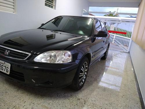 Imagem 1 de 14 de Honda Civic 2000 1.6 Lx 4p