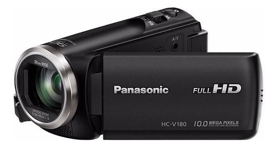 Videocámara Panasonic Hc-v180 K Full Hd