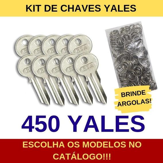 Kit De 450 Chaves Yales Virgens Para Cópia - Rca