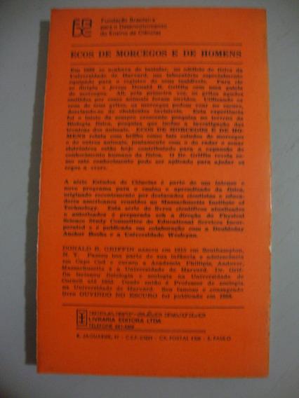 Livro Ecos De Morcegos E De Homens