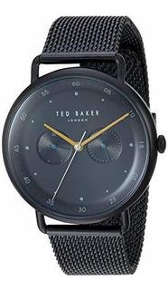 Reloj De Cuarzo George Para Hombre De Ted Baker Con Correa D
