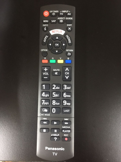 Controle Remoto Tv Panasonic Netflix Tnq2b4905 Originlal