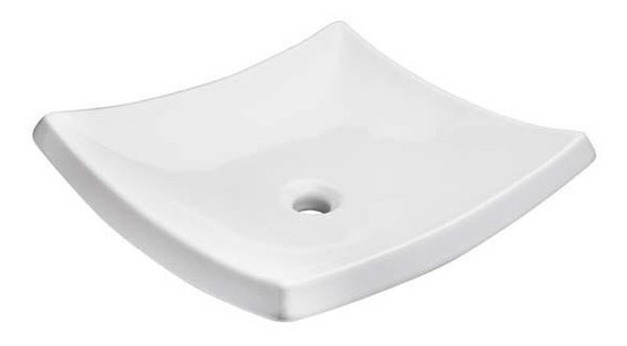 Lavabo De Cerámica Helvex Trazzo Blanco