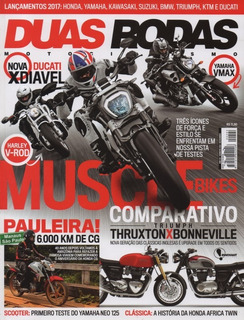 Duas Rodas N°494 Triumph Thruxton Bonneville Yamaha Neo 125