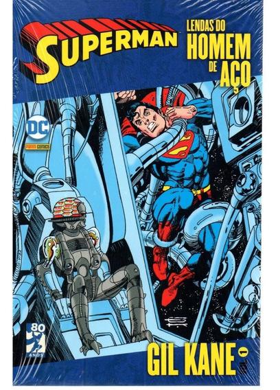 Superman Lendas Gil Kane 01 - Panini 1 - Bonellihq Cx444 H18