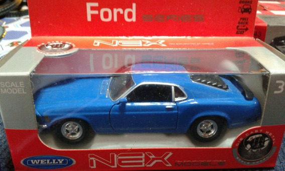 Ford Mustang ´70, Escala 1:38