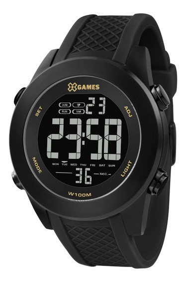 Relógio X-games Masculino Xteel Preto Xmnpd001-pxpx