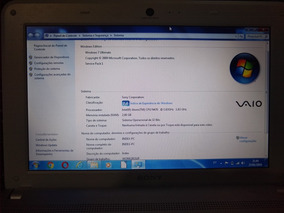 Notebook Sony Vaio M
