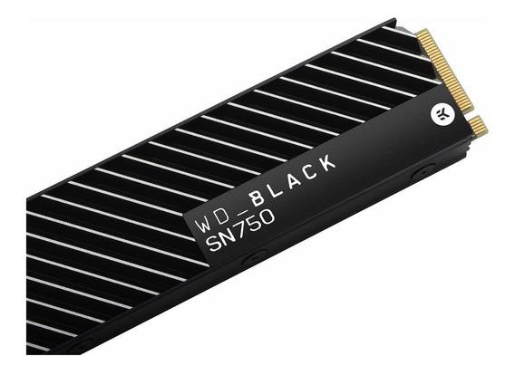 Disco Ssd Wd Black M2 500gb M2 Pcie Disipador Heatsink Nvme