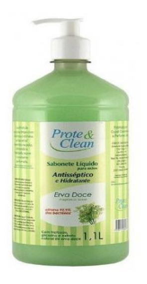 Sabonete Líquido Antisséptico Hidratante - Erva Doce 1,1 L