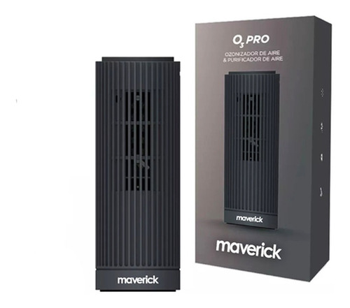 Ozonizador Ionizador Aire Antibacterial Purificador Maverick