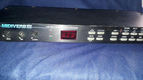 Processador De Audio Funcionando