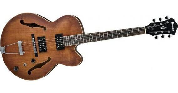 Guitarra Semi Acustica Ibanez + Bag + Pedaleira (tudo Novo)