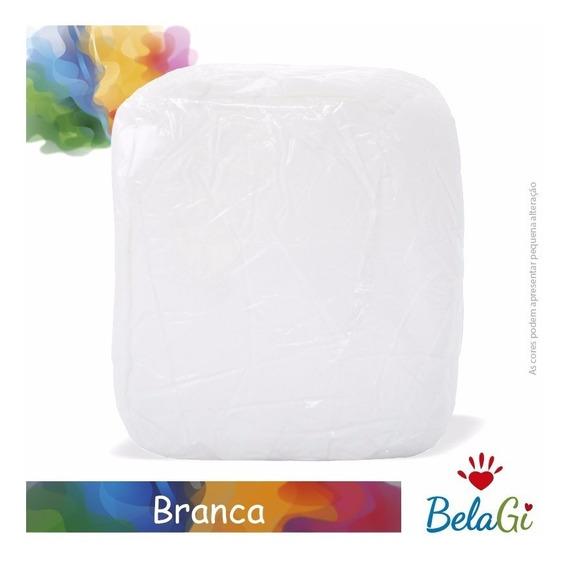 Caixa De Massa De Biscuit Belagi Branca 10kg