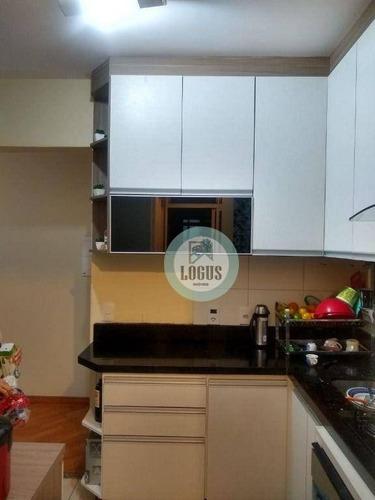 Imagem 1 de 5 de Apartamento Com 2 Dormitórios, 55 M² - Venda Por R$ 360.000,00 Ou Aluguel Por R$ 1.600,00/mês - Assunção - São Bernardo Do Campo/sp - Ap2011