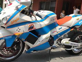 Kawasaki Zx14 2007 Llantas 35 Nitro Espectacular