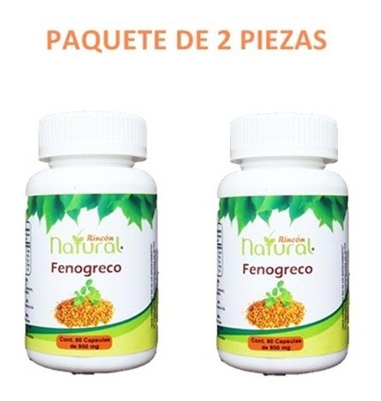 2 Fenogreco Capsulas Con Envio Nacional
