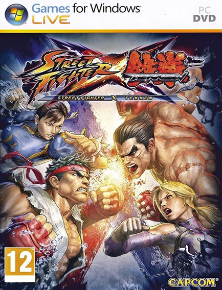 Street Fighter X Tekken Pc - Steam Key (envio Já)