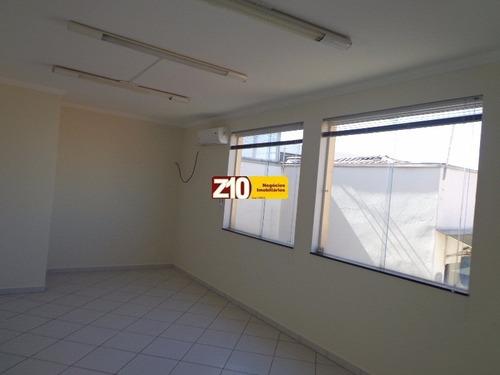 Imagem 1 de 7 de Sl00364 - Centro Au 86m² - Sala Comercial Com Wc Cozinha, E Área De Luz Ar Condicionado, Area De Luz, Localização Excelente. R$ 1.400,00 + Iptu - Sl00364 - 1938728