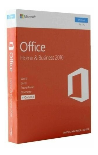 Office Home And Bussines 2016 P2 32 Bit T5d-02713 Box