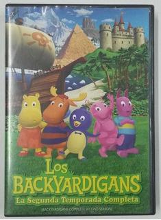 Dvd Blackyardigans La Segunda Temporada Completa