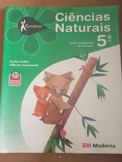 Livro Conviver Ciências Naturais 5º Ano