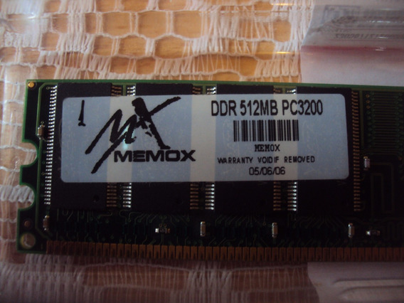 Memoria Ddr 512mb Pc3200