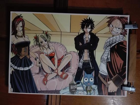 Poster Anime 30x45 Fairy Tail Ouran Tennis Shaman King