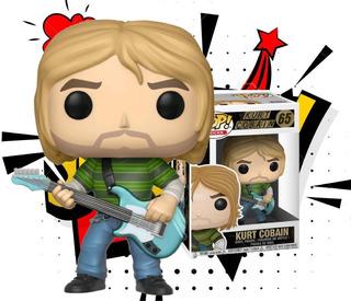 Funko Pop! #65 Kurt Cobain 100 % Original Nirvana