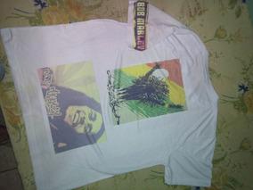 Camisetas 100% Algodao , Bob Marley , Hollister E Etc