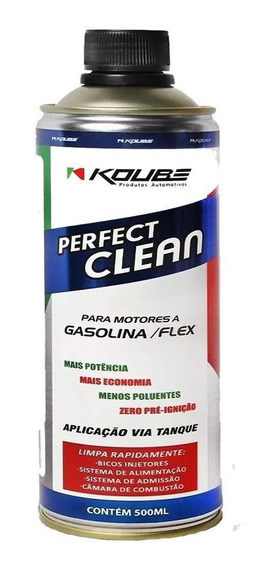 Perfect Clean Motor Flex Gasolina Alcool Koube 500ml