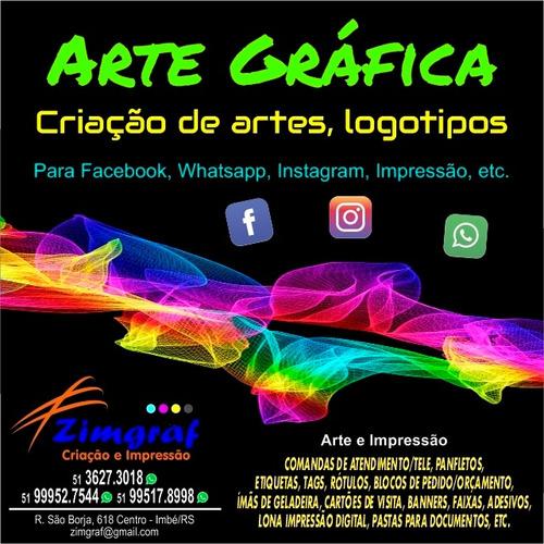 Arte Digital - Arte Para Midias Sociais E Impressão