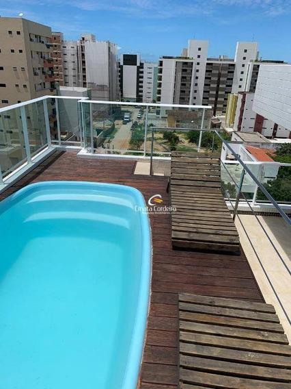 Flat À Venda, 38 M² Por R$ 220.000,00 - Intermares - Cabedelo/pb - Fl0077