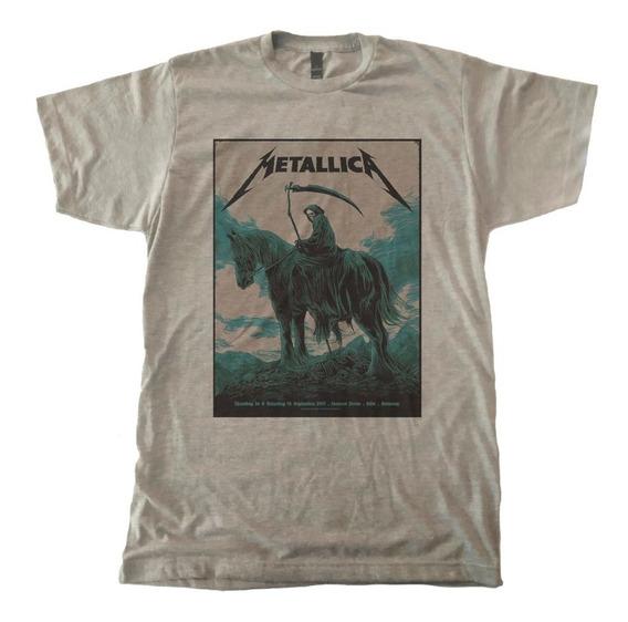 Playera Metallica Death Poster