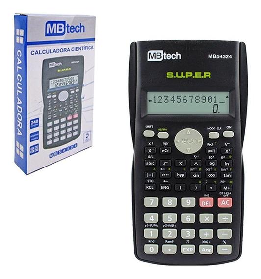 Calculadora De Mão Científica Com 240 Funções Display Duplo