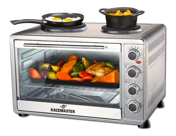 Horno Eléctrico Kacemaster 60 L 3200w Anafe Gh55h3l **10