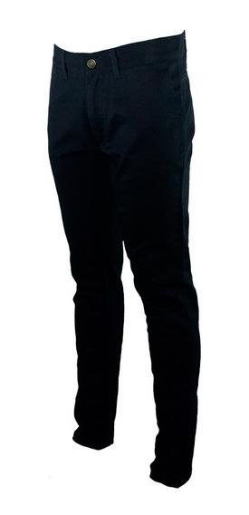 Pantalón Semi Chupin - Gabardina Rígida Sanforizada