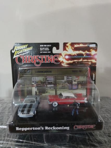 Diorama Christine Johnny Lightning Escala 1/64 Nuevo