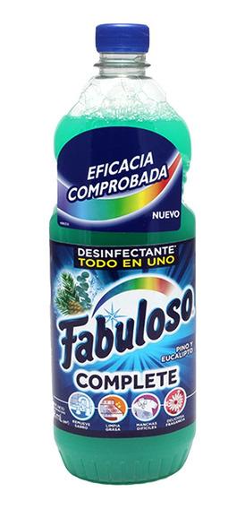 Fabuloso Complete Green 828 Ml